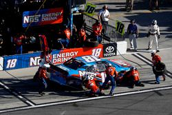 Pit stop Bobby Labonte, Joe Gibbs Racing Toyota