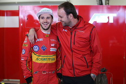 Daniel Abt, ABT Schaeffler Audi Sport met Thomas Biermaier