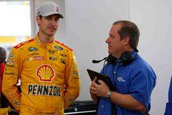 Joey Logano, Team Penske Ford and crew chief Todd Gordon