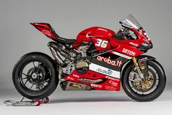 La moto di Leandro Mercado, Aruba.it Ducati SuperStock 1000 Junior Team
