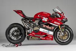 Motorrad von Leandro Mercado, Aruba.it Ducati SuperStock 1000 Junior Team