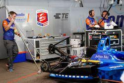 Car of Simona de Silvestro, Amlin Andretti Autosport Formula E Team