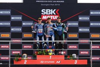Andy Verdoia, Yamaha, Kevin Sabatucci, Yamaha, Nick Kalinin, Kawasaki