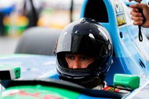 Damon Hill alla celebrazione per Michael Schumacher