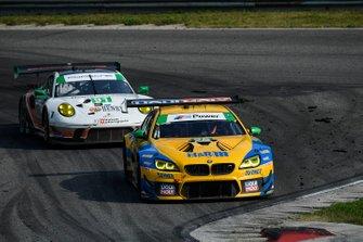 #96 Turner Motorsport BMW M6 GT3, GTD: Bill Auberlen, Robby Foley, #91 Wright Motorsports Porsche 911 GT3 R, GTD: Anthony Imperato, Matt Campbell