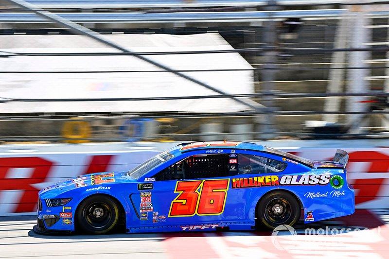 Matt Tifft, Front Row Motorsports, Ford Mustang Hilliker Glass/Surface
