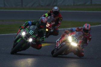 レオン・ハスラム(Kawasaki Racing Team)、高橋巧(Red Bull Honda)