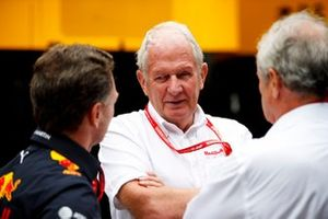 Christian Horner, Team Principal, Red Bull Racing and Helmut Marko, Consultant, Red Bull Racing