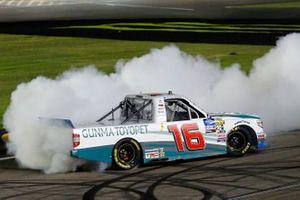 Race Winner Austin Hill, Hattori Racing Enterprises, Toyota Tundra Gunma Toyopet