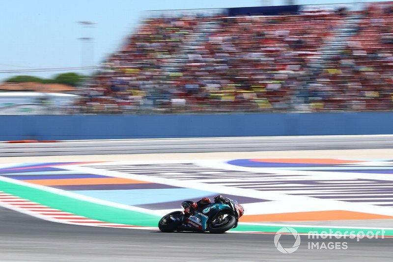 3 место. Фабио Куартараро, Petronas Yamaha SRT - 1:32,571
