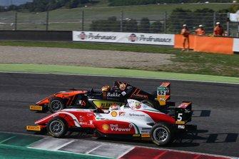 Dennis Hauger, Van Amersfoort Racing BVDennis Hauger, Van Amersfoort Racing BV, e Gianluca Petecof, Prema Powerteam