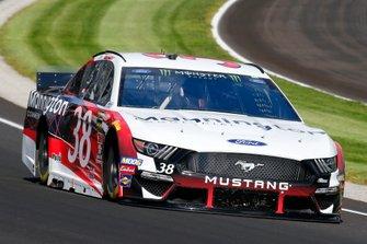 David Ragan, Front Row Motorsports, Ford Mustang Mannington Commercial