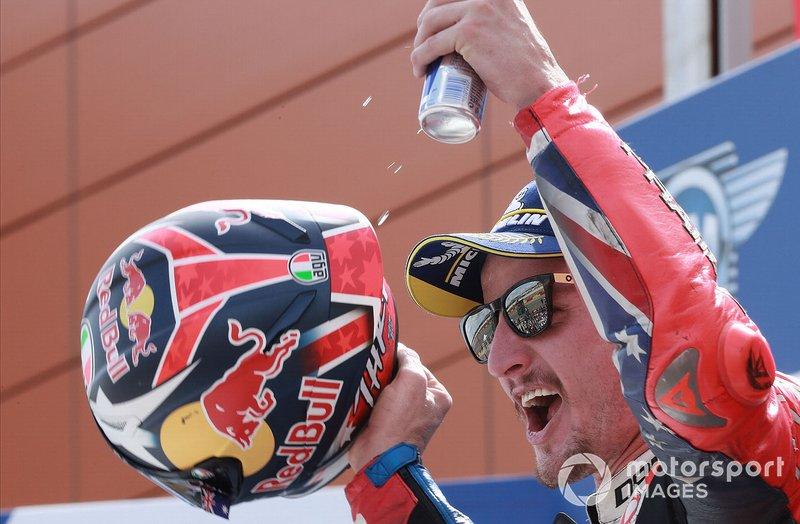 Podio: tercer lugar Jack Miller, Pramac Racing