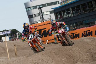Jorge Prado en Jeffrey Herlings, Red Bull KTM Facotry Racing