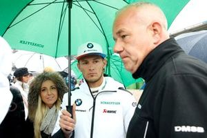 Marco Wittmann, BMW Team RMG, mit Sven Stoppe