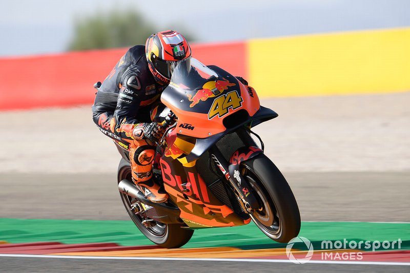 Pol Espargaro, Red Bull KTM Factory Racing - 8 cadute