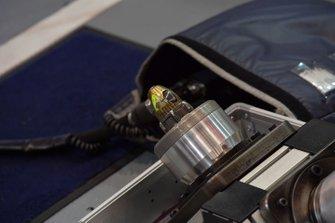 Red Bull Racing, dettaglio del mozzo della ruota