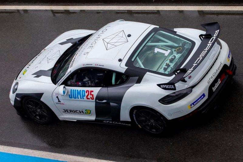 Lukas Wanner, Porsche 718 Cayman GT4 Clubsport