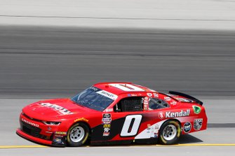 Garrett Smithley, JD Motorsports, Chevrolet Camaro Victory Lane Quick Oil Change / Kendall Motor Oil