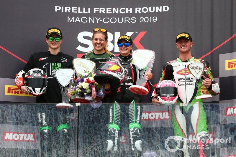 Manuel Gonzalez, Kawasaki, Ana Carrasco, Provec Racing, Scott Deroue, Kawasaki