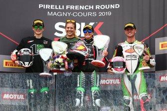Gonzalez, Ana Carrasco, Provec Racing, Scott Deroue, Kawasaki