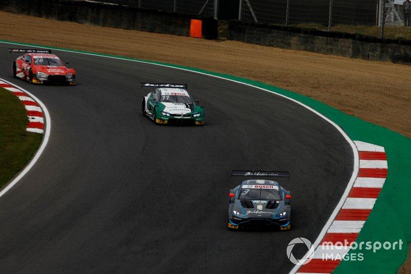 Paul Di Resta, R-Motorsport, Aston Martin Vantage AMR, Marco Wittmann, BMW Team RMG, BMW M4 DTM, Loic Duval, Audi Sport Team Phoenix, Audi RS 5 DTM