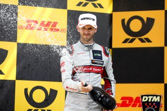 Podio: secondo classificato René Rast, Audi Sport Team Rosberg