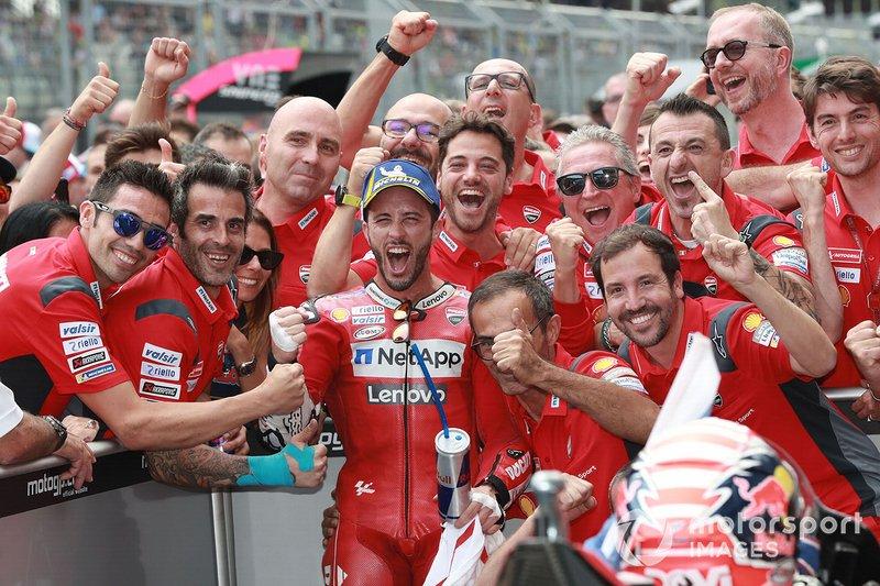 Ducati maintient son invincibilité autrichienne
