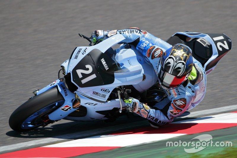 Katsuyuki Nakasuga, Yamaha Factory Team