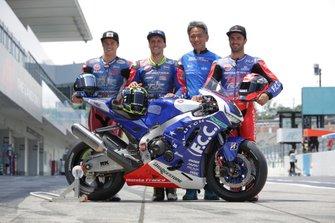 #1 F.C.C. TSR Honda France: Hook Josh, Mike di Meglio, Freddy Foray