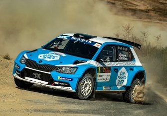 Chris Ingram, Ross Whittock, Skoda Fabia R5