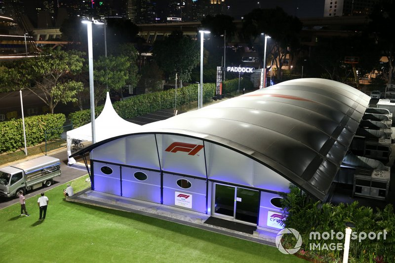 Centro comunicazione della F1