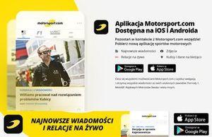 Aplikacja Motorsport.com