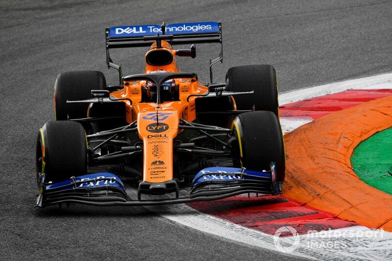 Abandonou - Carlos Sainz Jr., McLaren MCL34