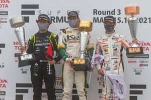 Giuliano Alesi, Kuo VANTELIN TEAM TOM'S, Nobuharu Matsushita, B-Max Racing Team, Sena Sakaguchi, JMS P.MU/CERUMO・INGING