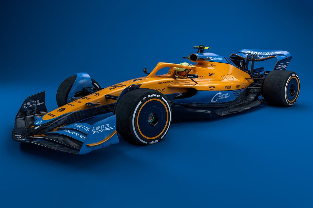 McLaren 2022 F1 car
