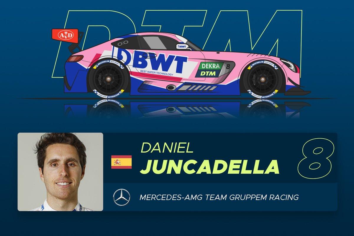 #8 Daniel Juncadella (30) - Ranking: ******* (7 Sterne)