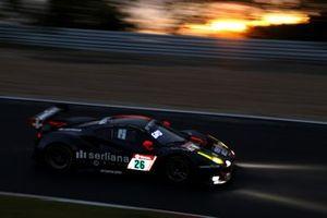 "#26 octane126 Ferrari 488 GT3 EVO: Bj""rn Grossmann, Simon Trummer, Jonathan Hirschi, Luca Ludwig"
