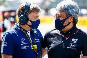 Jost Capito, CEO, Williams, and Masashi Yamamoto, General Manager, Honda Motorsport