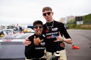 Jack Young, Brutal Fish Racing Team, Honda Civic Type R TCR, Isidro Callejas, Brutal Fish Racing Team, Honda Civic Type R TCR