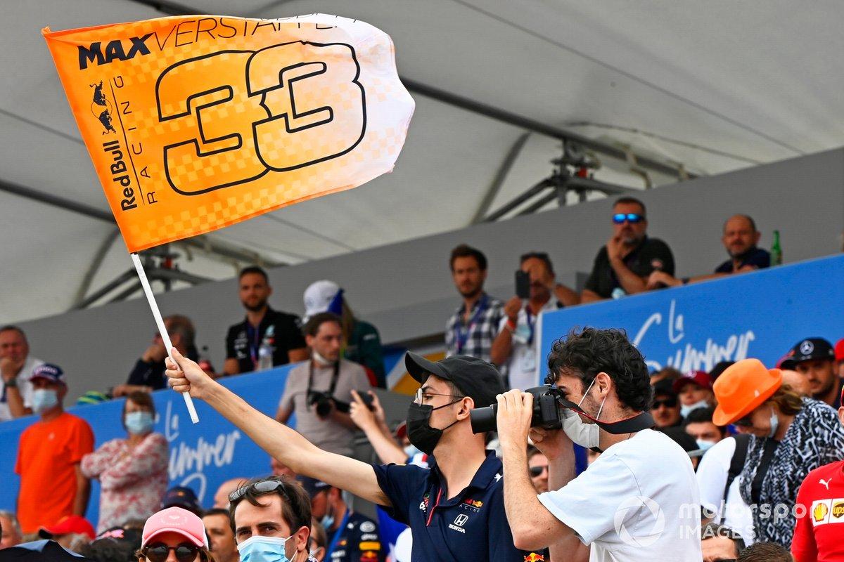 Fans di tribune Sirkuit Paul Ricard