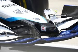 Williams FW43B nose detail