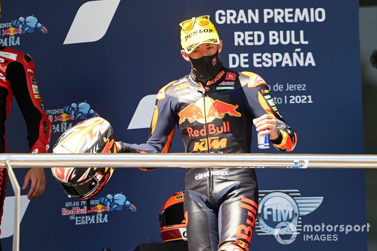 El ganador: Pedro Acosta, Red Bull KTM Ajo
