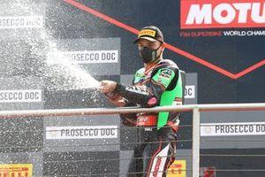 Podio: Alex Lowes, Kawasaki Racing Team WorldSBK