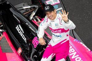 Helio Castroneves, Meyer Shank Racing Honda, Honda HPD