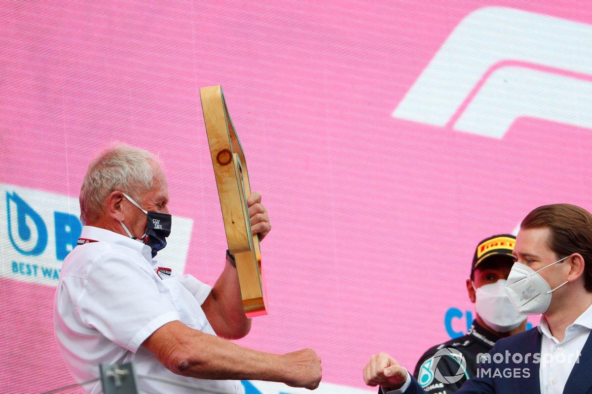 Podio: Helmut Marko, Consultor de Red Bull Racing