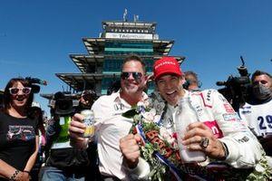 Helio Castroneves, Mike Shank, Meyer Shank Racing Honda