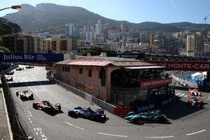 Nick Cassidy, Envision Virgin Racing, Audi e-tron FE07, Mitch Evans, Jaguar Racing, Jaguar I-Type V