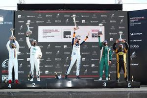 Pódio da GT3 Cup em Curitiba