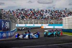 Maximilian Guenther, BMW I Andretti Motorsports, BMW iFE.21, Sam Bird, Jaguar Racing, Jaguar I-TYPE 5